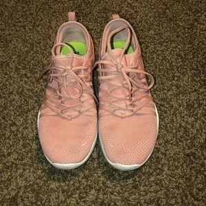 Rose Gold/Pink Nike Training Shoes